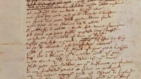 Şekspirin yeganə əlyazması tapılıb - VİDEO