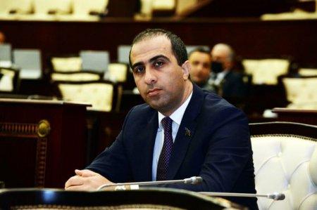 """Deputat: """"Şəhid adı üzərindən oyun oynanılır"""""""