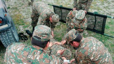 Bu gün Qarabağda 28 erməni hərbçi ölüb