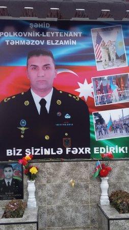 TARIX  YAZAN  İGIDİMİZ – POLKOVNİK-LEYTENANT  ELZAMİN TƏHMƏZOV.