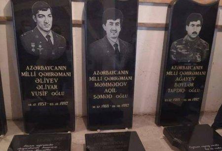 Azərbaycanın beş Milli Qəhrəmanının məzar daşları hazırlandı - ÖZƏL