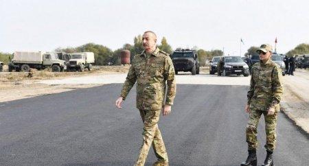 """Prezident: """"Bu il Füzulidəki hava limanının uçuş-enmə zolağı istifadəyə verilməlidir"""""""